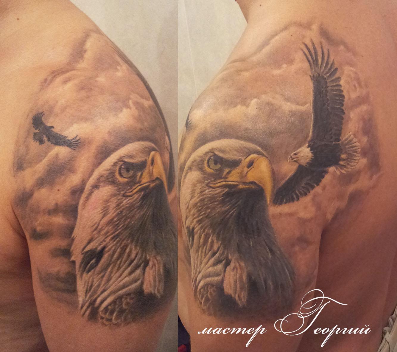 Татуировки орел значение фото