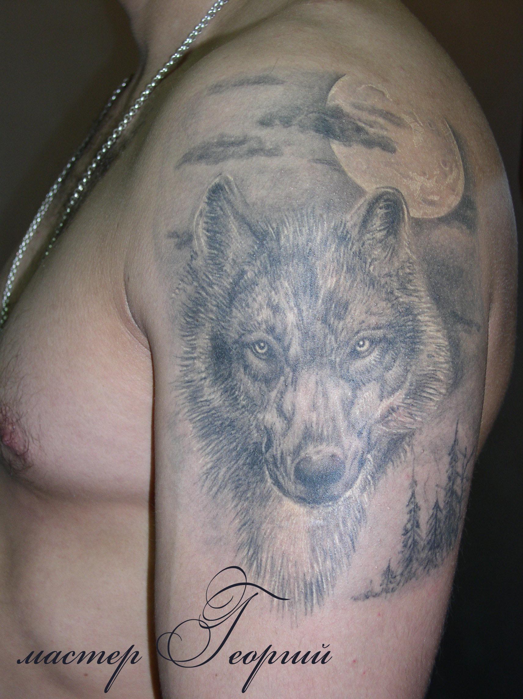 Мужская татуировка – мастер георгий